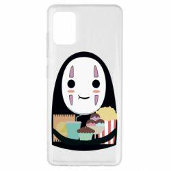 Чохол для Samsung A51 Безликий з вкусняшками