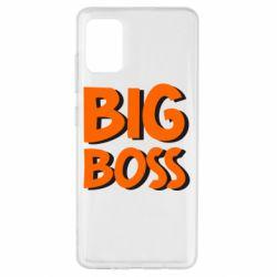 Чехол для Samsung A51 Big Boss