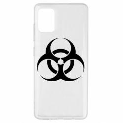 Чехол для Samsung A51 biohazard