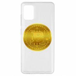 Чохол для Samsung A51 Bitcoin coin