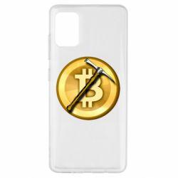 Чохол для Samsung A51 Bitcoin Hammer