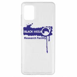 Чехол для Samsung A51 Black Mesa
