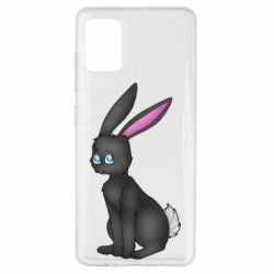 Чохол для Samsung A51 Black Rabbit