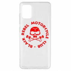 Чехол для Samsung A51 Black Rebel Motorcycle Club