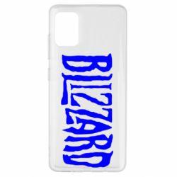 Чохол для Samsung A51 Blizzard Logo