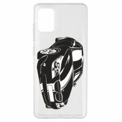 Чехол для Samsung A51 BMW car