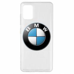 Чехол для Samsung A51 BMW Logo 3D