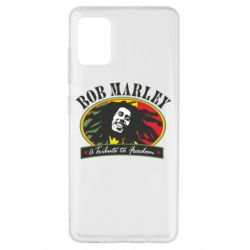 Чехол для Samsung A51 Bob Marley A Tribute To Freedom