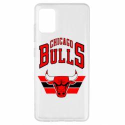 Чохол для Samsung A51 Великий логотип Chicago Bulls
