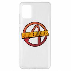 Чехол для Samsung A51 Borderlands logotype