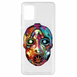 Чехол для Samsung A51 Borderlands mask in paint