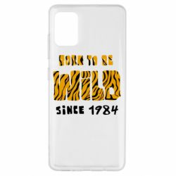 Чохол для Samsung A51 Born to be wild sinse 1984