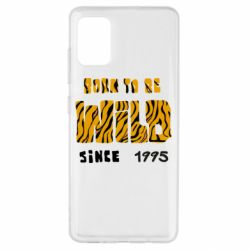 Чехол для Samsung A51 Born to be wild sinse 1995