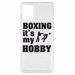 Чохол для Samsung A51 Boxing is my hobby