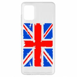 Чехол для Samsung A51 Британский флаг