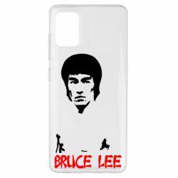 Чехол для Samsung A51 Bruce Lee