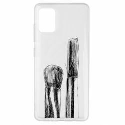 Чохол для Samsung A51 Brushes