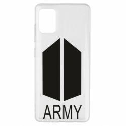 Чохол для Samsung A51 Bts army