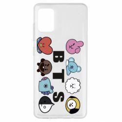 Чохол для Samsung A51 Bts emoji