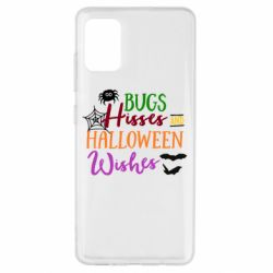 Чохол для Samsung A51 Bugs Hisses and Halloween Wishes