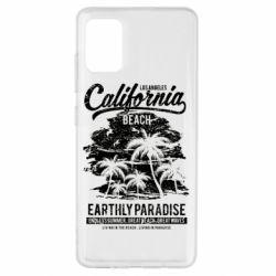 Чохол для Samsung A51 California Beach