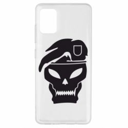 Чехол для Samsung A51 Call of Duty Black Ops logo