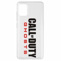 Чехол для Samsung A51 Call of Duty Ghosts Logo