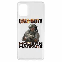 Чехол для Samsung A51 Call of Duty: Modern Warfare