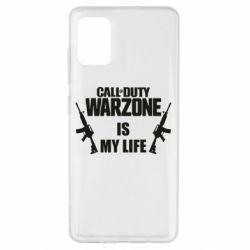 Чехол для Samsung A51 Call of duty warzone is my life M4A1