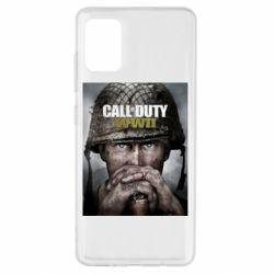 Чохол для Samsung A51 Call of Duty WW2 poster