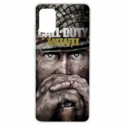 Чехол для Samsung A51 Call of Duty WWII