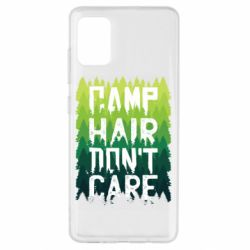 Чехол для Samsung A51 Camp hair don't care