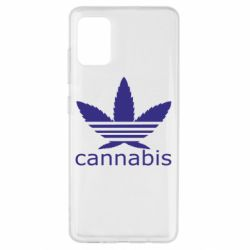 Чохол для Samsung A51 Cannabis
