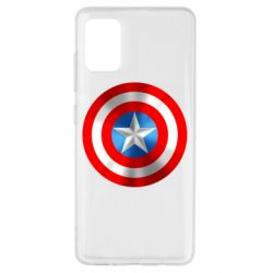Чехол для Samsung A51 Captain America 3D Shield