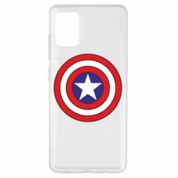 Чехол для Samsung A51 Captain America