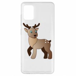 Чехол для Samsung A51 Cartoon deer