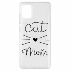 Чохол для Samsung A51 Cat mom