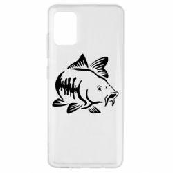 Чохол для Samsung A51 Catfish