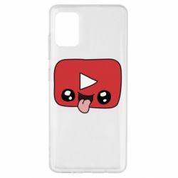 Чохол для Samsung A51 Cheerful YouTube
