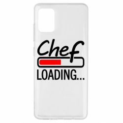 Чехол для Samsung A51 Chef loading
