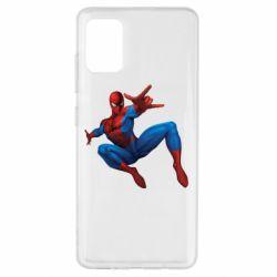 Чохол для Samsung A51 Людина павук