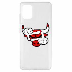 Чехол для Samsung A51 Chicago Bulls бык
