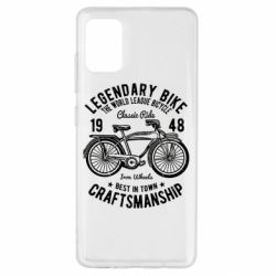 Чохол для Samsung A51 Classic Bicycle