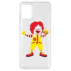 Чохол для Samsung A51 Clown McDonald's