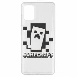 Чохол для Samsung A51 Color Minecraft