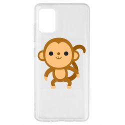 Чохол для Samsung A51 Colored monkey