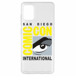 Чохол для Samsung A51 Comic-Con International: San Diego logo
