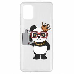Чохол для Samsung A51 Cool panda