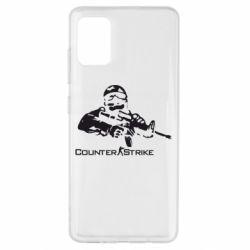 Чехол для Samsung A51 Counter Strike Player