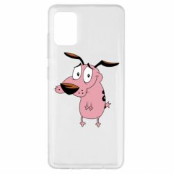 Чохол для Samsung A51 Courage - a cowardly dog